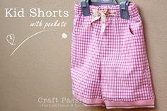 kostenloses schnittmuster shorts fuer kinder naehen