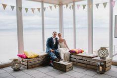 Beautiful Photo on our terrace area! Grooms, Terrace, Table Decorations, Bride, Furniture, Beautiful, Home Decor, Balcony, Wedding Bride