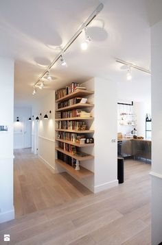 Apartament skandynawski Hol / Przedpokój - zdjęcie od Soma Architekci - Homebook.pl