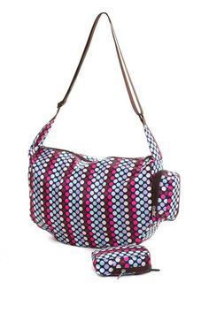 The Very Lovely Bag Company Lots - o - Dots Slouch Bag