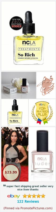 2 Products ncLA So Rich Cuticle Oil (ncla081) + ncLA Nudes Polish Volume IV New | eBay #ncla Free Shipping 10% benefits Biggies Bullies Pit Bull & Bully Breed Rescue via @eBay @pittie_love http://rover.ebay.com/rover/1/711-53200-19255-0/1?ff3=4&pub=5575282018&toolid=10001&campid=5338064414&customid=&mpre=https%3A%2F%2Fwww.ebay.com%2Fitm%2F263585557695  (Pinned using https://PromotePictures.com)
