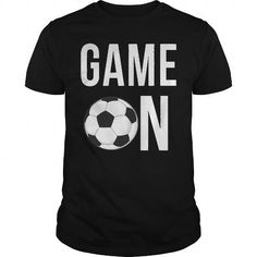 Game On SOCCER tee shirts and hoodies for men / women. Tags: usa soccer t shirt mens, soccer t shirts real madrid, soccer mom t shirt sayings, soccer t shirt online us, create soccer t-shirt online, design soccer t shirts online, #soccer #football #soccermom. Get Yours Here: https://www.sunfrog.com/TeeSport/Soccer-T-Shirt-Designs?72120&shelloff