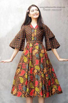 58 best ideas for dress occasion full skirts African Fashion Dresses, African Dress, Fashion Outfits, Emo Outfits, Stylish Dresses, Simple Dresses, Mode Batik, Batik Kebaya, Amarillis