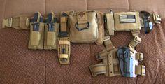 Cool, simple battle belt setup.