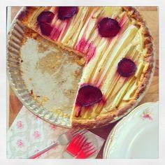 Niente di Particolare - rhubarb, ginger & kardemom pie