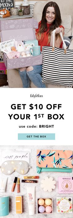The BEST Editor's Box FabFitFun has ever come out with is here! Don't wait around on this one.join the club & get yo . Instagram Baddie, Frugal, Fab Fit Fun Box, Babe, Foundation Repair, Skin Tag Removal, Matilda, Homemaking, Cleaning Hacks