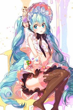 VOCALOID Kawaii Hatsune Miku                                                                                                                                                                                 More