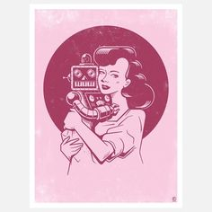 Mother's Love 8.5x11 by Kronk, $25, now featured on Fab.
