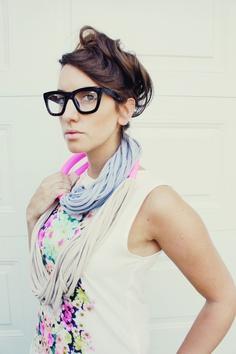 8d54c57972c5 Geek chic. Hipster StyleHipster FashionOversized GlassesWearing ...
