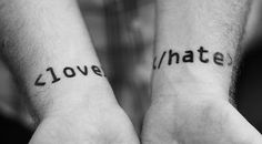 Cheesy Quotes, Romantic Pictures, I Love You Poems: Love - Hate