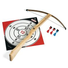 Wooden Toy Crossbow   Sports & Active Games