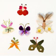 Nature craft butterflies