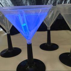 Spotted while shopping on Poshmark: Set of 8 Glow Martini Glasses! #poshmark #fashion #shopping #style #Other