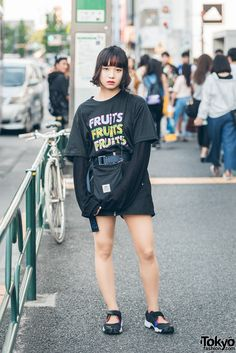 Harajuku Street Style w/ FRUiTS Magazine x Opening Ceremony, Kujaku & Nike Air Rift (Tokyo Fashion News) Japanese Street Fashion, Tokyo Fashion, Harajuku Fashion, Fashion News, Style Fashion, Tokyo Street Style, Street Style Women, Nike Air Rift, Fruits Magazine