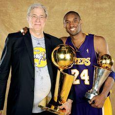 Kobe and the Zen Master Phil Jackson