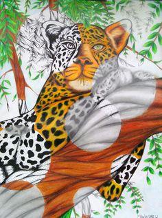 s phileonia artonian: mixed media drawing artă elevi gimnazi High School Drawing, 7th Grade Art, High School Art Projects, Animal Art Projects, Art Nouveau, Drawing Projects, High Art, Elements Of Art, Art Classroom