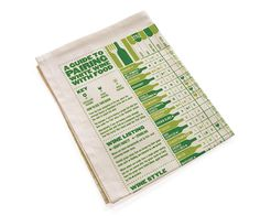 For Mike $15.17 A Guide To Pairing White Wine With Food Tea Towel