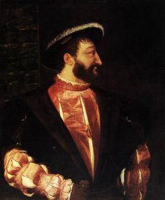 Titian (Tiziano Vecellio) – Francis I - King of France (1539)  Paris, Musée du Louvre  The Web Gallery of Art