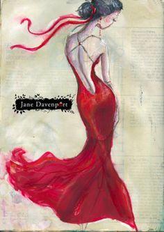 Back-red-dress-Jane-Davenport