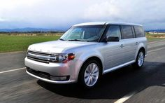 2018 Ford Flex White color
