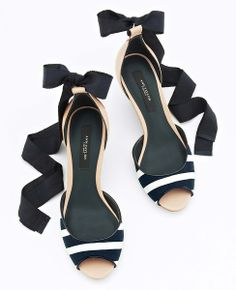 Makena Peeptoe Wedges