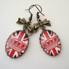 Cool Brittania - Union Jack Earrings