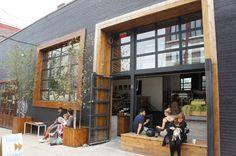 10 Unique Coffee Shop Designs In Asia Retail Facade, Shop Facade, Coffee Shop Bar, Coffee Shop Design, Coffee Shops, Patio Interior, Cafe Interior Design, Facade Design, Architecture Design