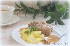 Cocina compartida: Jamoncitos de cerdo con mostaza a la antigua (Robochef y tradicional)