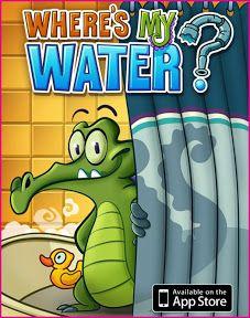 스왐피(Swampy) – Where Is My Water? (Creature Feep, 2011) – 물이 퍼즐 재료.   ohyecloudy's lifelog