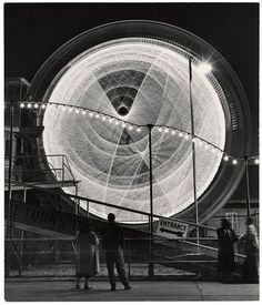 Andreas Feininger, The Gyro Globe Coney Island, New York, 1949#Repin By:Pinterest++ for iPad#