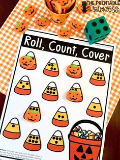 The Printable Princess: Halloween Counting and Subitizing Freebie Subitizing Activities, Kindergarten Math Games, Numeracy, Kindergarten Freebies, Halloween Activities For Kids, Halloween Games, Halloween Ideas, Children Activities, Halloween Horror
