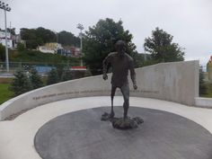 Terry Fox Memorial in St. Stuff To Do, Things To Do, Newfoundland And Labrador, St John's, Oh The Places You'll Go, Fox, Canada, Explore, Holidays