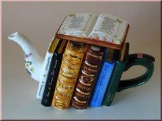 Kitap çaydanlık