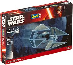 Revell  Star Wars  Tie Interceptor *** You can find more details by visiting the image link.Note:It is affiliate link to Amazon.