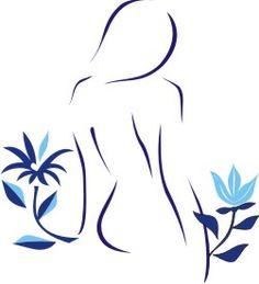 Makeup Illustration, Fashion Illustration Sketches, Outline Drawings, Pencil Art Drawings, Paintings Famous, Beautiful Paintings, Logo Studio, Wellness Massage, Zen Wallpaper