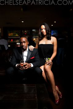 Cigar Bar Engagement Shoot...LOVE!!!!! Click link for more full set of photos
