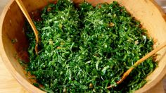 Watch Martha Stewart's Kale Caesar Salad Video. Get more step-by-step instructions and how to's from Martha Stewart.