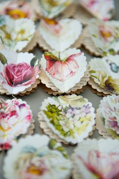 SALE Paper garland, Peony and Roses SCALLOPS, for wedding, party, birthday, home decoration