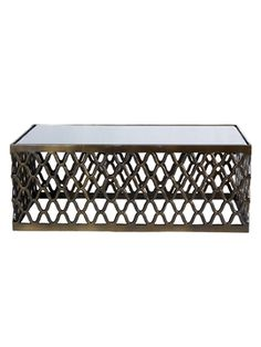 Cable Rectangular Coffee Table from Up to 70% Off: Four Hands Furniture on Gilt