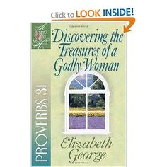 Proverbs 31 woman by Elizabeth George. Awesome book. We studied this one in the women's Sunday school class.