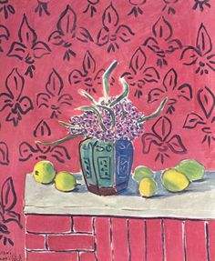 still life with lemons. Matisse