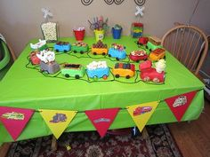 #Chuggington cake idea chuggington-party