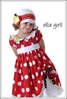 Minnie Boutique Custom Handmade Mouse Dress Costume Red White Polka Dot  Dress Traditional Flowers for Minnie 66973f1ac82