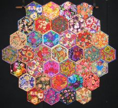 """""""Kaffe and Kim - 2"""" by Kim Boland, Viewer's Choice 2nd prize, 2009 Queensland Quilters Inc. (Australia)"""