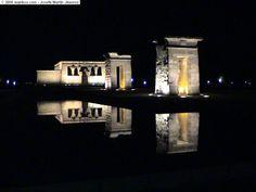 Fotos de Madrid, España, Templo de Debot: manbos.com