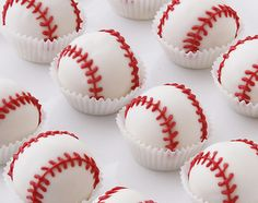 At Cake Bites, we specialize in elegant, hand-crafted cake balls. Our mouth-watering Cake Bites (aka Cake Pops or Cake Balls) ship nationwide! Buckwheat Cake, Baseball Birthday Party, Softball Party, Softball Stuff, Sports Birthday, Baseball Stuff, Cake Bites, Zucchini Cake, Apple Smoothies