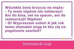 Szarmancki mąż : -)
