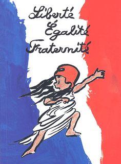 Liberté, égalité, fraternité.... Agnès Rosenstiehl -