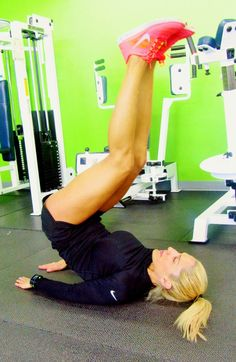 Leg lifts for a strong, lean core