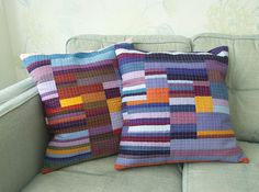 Klee cushions by the wee pixie, via Flickr